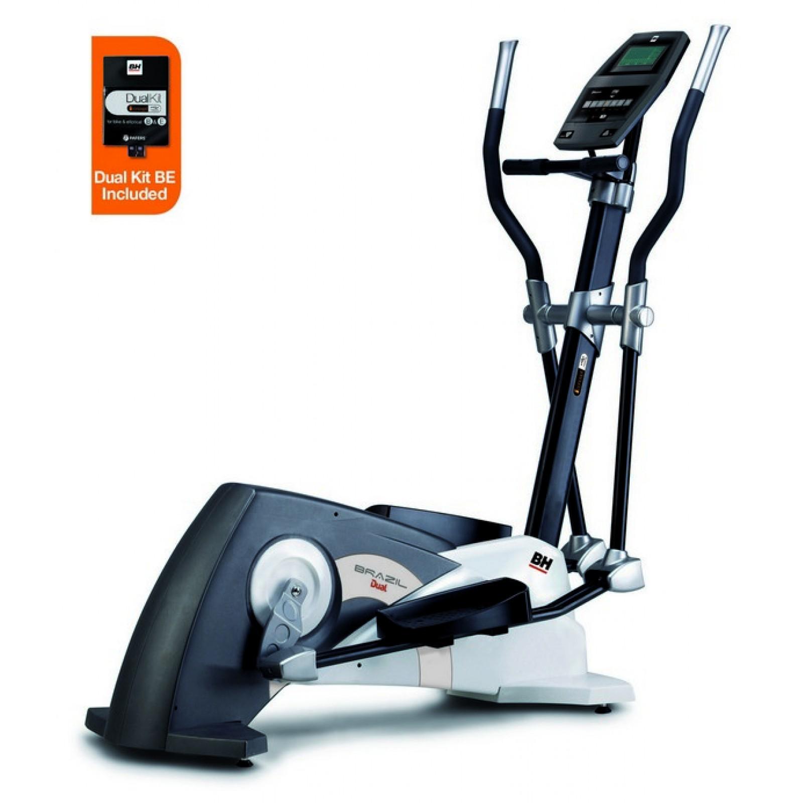 Эллиптический тренажер BH Fitness Brazil Dual + Dual Kit