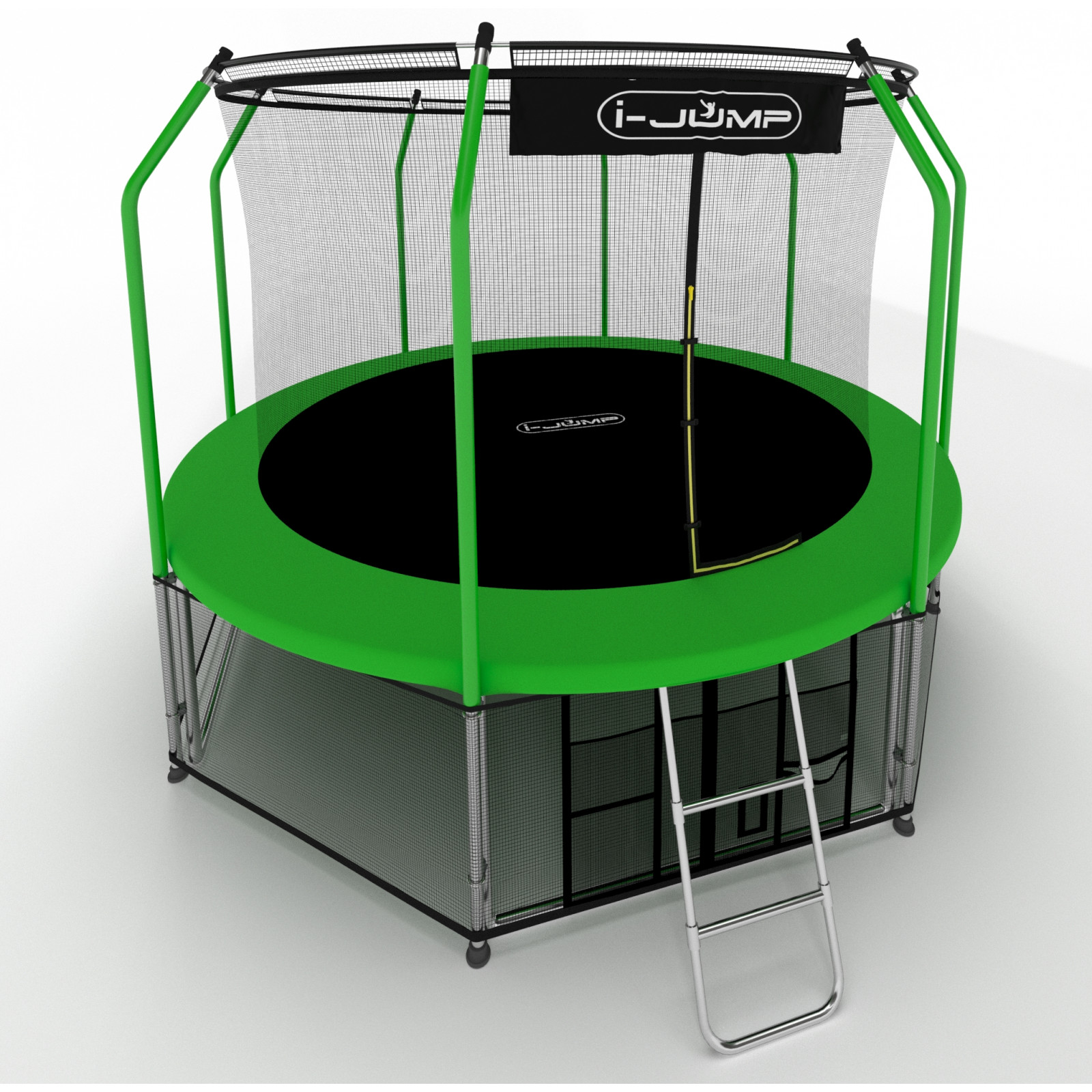 Батут i-Jump Elegant 14ft green